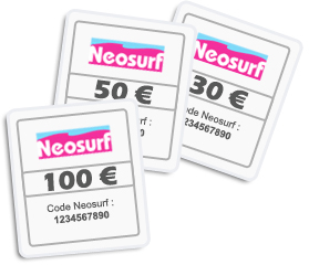 neosurf carte pr pay e pour payer et acheter sur internet. Black Bedroom Furniture Sets. Home Design Ideas